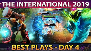 The International 2019 - TI9 Best Plays Closed Qualifiers - Day 4