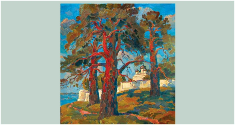 """Выставка живописи """"Влюблённые в Селигер"""" @ Картинная галерея. Осташков"""
