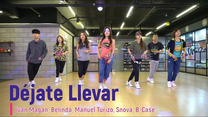 줌바 zumba 2020 I LOVE ZUMBA Déjate Llevar I Juan Magan Belinda Manuel Turizo Snova B Case dance