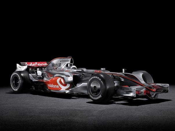 McLaren MP4/23 Mercedes. Аэродинамическая камасутра