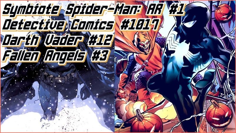 Новинки 11.12: Symbiote Spider-Man: AR 1, Fallen Angels 3, Detective Comics 1017, Darth Vader 12
