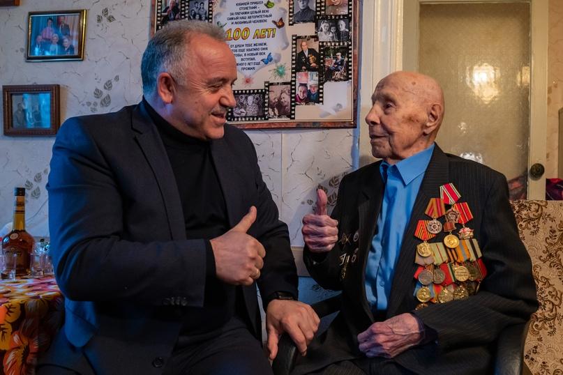 Медаль для старейшего ветерана, изображение №5