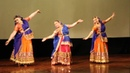 School of Guru Ashwani Nigam in Saint-Petersburg   Diwali Mela   Murliya baaje re   Semiclassical folk dance   Moscow, 2019