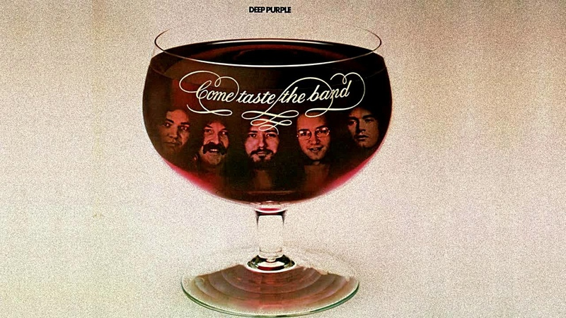 Deep Purple Come Taste the Band Dealer