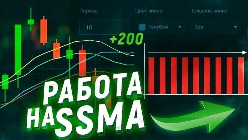 Binarium SSMA пушечная стратегия 90% плюсов Грааль для заработка