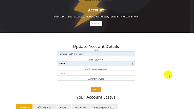 Earnonline CryptoCoinCash Earn Online - Reliable online Cloud Miner for Dogecoin