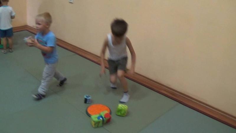 27.08.2016 г. Детские Летние Олимпийские игры. Башня из кубиков.Training SPORTY KIDS
