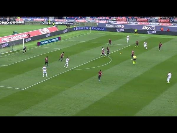 Dejan Kulusevski Curly Goal Vs Bologna