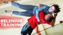 ZHAN BELENIUK - CRAZY WRESTLING TRAINING WITH 115 kg WEIGHTLIFTER