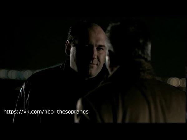 The Sopranos Клан Сопрано Душевный разговор Тони и Джони