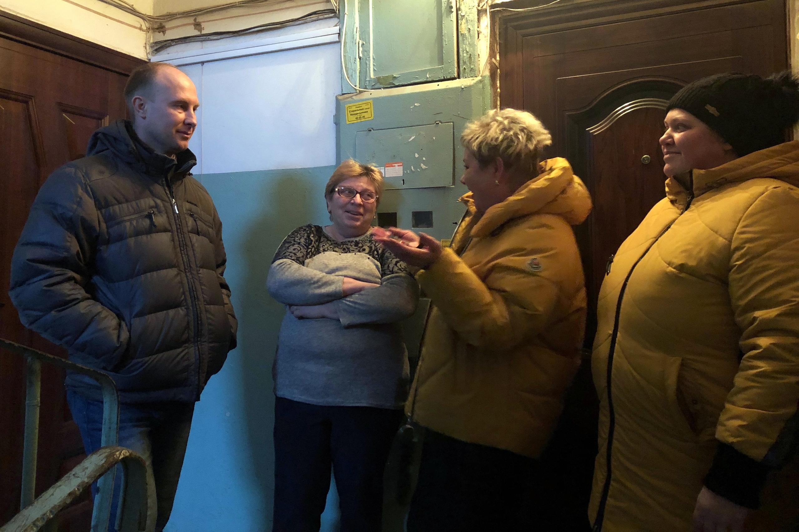 Пять дней 40 жителей в Горроще живут без газа.