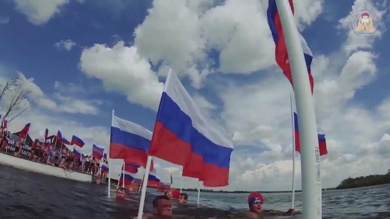Черноморская эстафета Доплыть до Победы