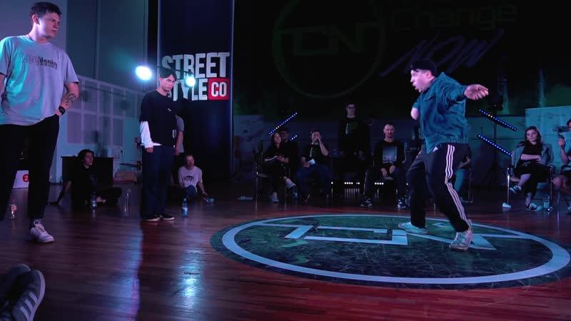 TCN Battle | Hip-Hop 2x2 1\4 Final | KADO FURA vs JUNI RODION