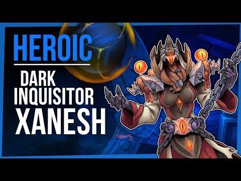 Гильдия Тактика Галактика против Великого инквизитора Занеша (героик) / Dark inquisitor Xanesh (Heroic)