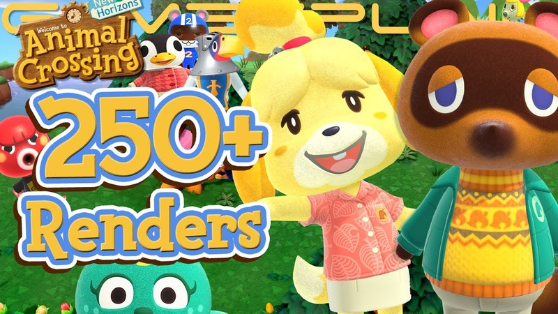 250 Animal Crossing New Horizons Renders Reveal TONS of Returning Villagers Nook's Autumn Outfit
