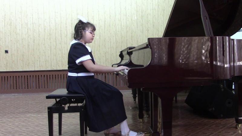 магеррамова элина 9 лет Абинск В Гаврилин Танцующие куранты