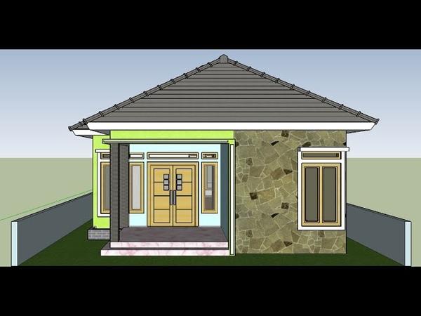 Contoh Desain Rumah Ukuran 7x10 Meter Model Terbaru Minimalis Modern Sederhana