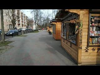 Брест - прогулка по городу # ул Гоголя  бульвар Космонавтов
