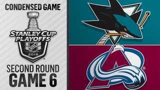 05/06/19 Second Round, Gm6: Sharks @ Avalanche