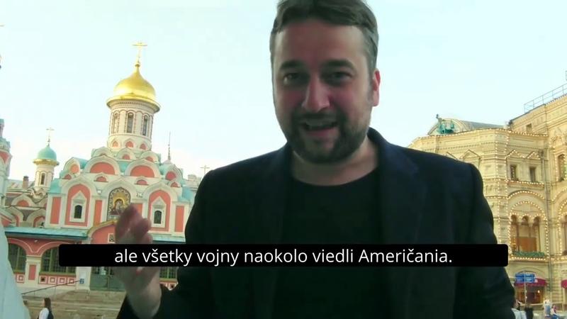 """Blaha v Moskve """"Rusko je krásne múdre a vyspelé Roky nás klamali"""