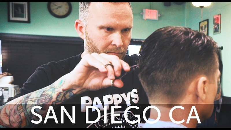 💈 HairCut Harry's San Diego Haircut Experience at Pappy's Barber Shop