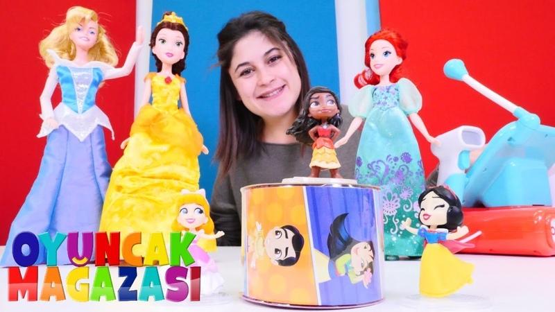 Ayşenin oyuncak mağazası. Prenses oyuncakları açılımı ve tanıtımı! Kız oyun videosu