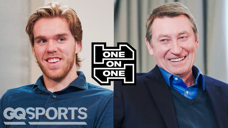 Wayne Gretzky and Connor McDavid Have an Epic Conversation One on One GQ Sports