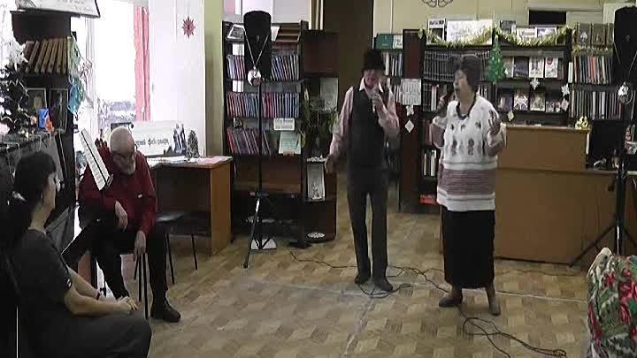 Дуэт Парасьи и Филимона Людмила Осипова и Евгений Лужецкий