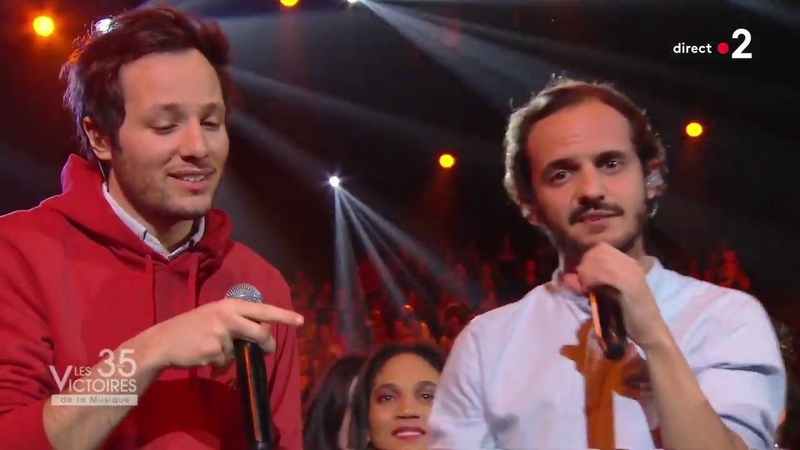 Boulevard Des Airs Vianney Allez reste LIVE aux Victoires de la musique 2020