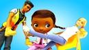 Barbie em Português Brasil Doc McStuffins ajuda a Barbie Vídeos de brinquedos para meninas