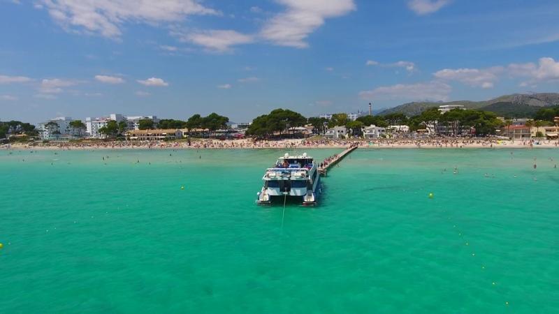 Badia d'Alcudia Playa de Alcudia Bay Mallorca Alcudia Beach