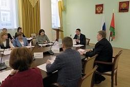 Заседание трёхсторонней комиссии состоялось в администрации Липецкой области