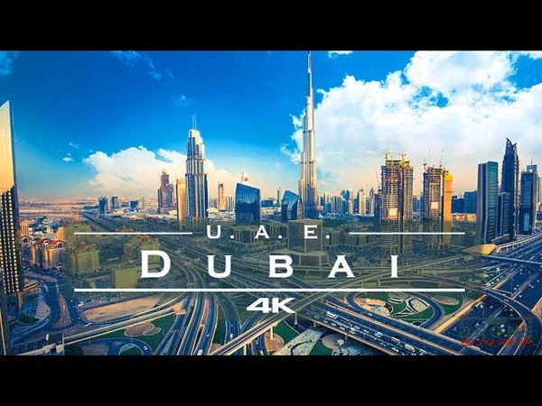 Dubai United Arab Emirates 🇦🇪 by drone 4K
