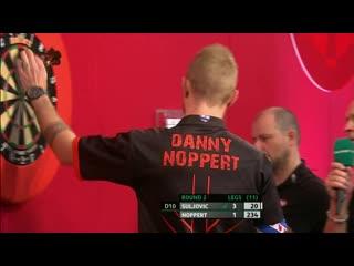 Mensur Suljović vs Danny Noppert (PDC Players Championship Finals 2019/ Round 2)