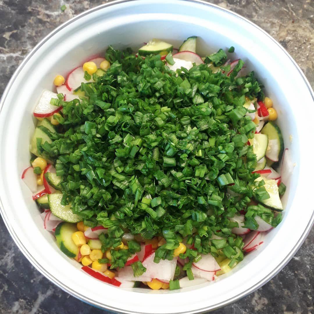 Летний салатик