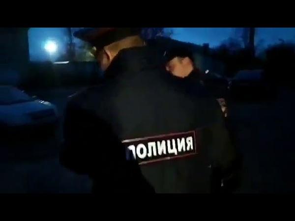 ПО БЕСПРЕДЕЛУ: Анастасию Васильеву силой задержали двое сотрудников полиции 17.10.2017