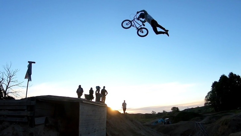 The Biggest BMX Dirt Jump in the World