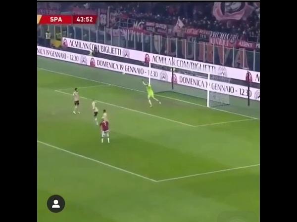 Samu castillejo fantastic goal against Spal 🤩