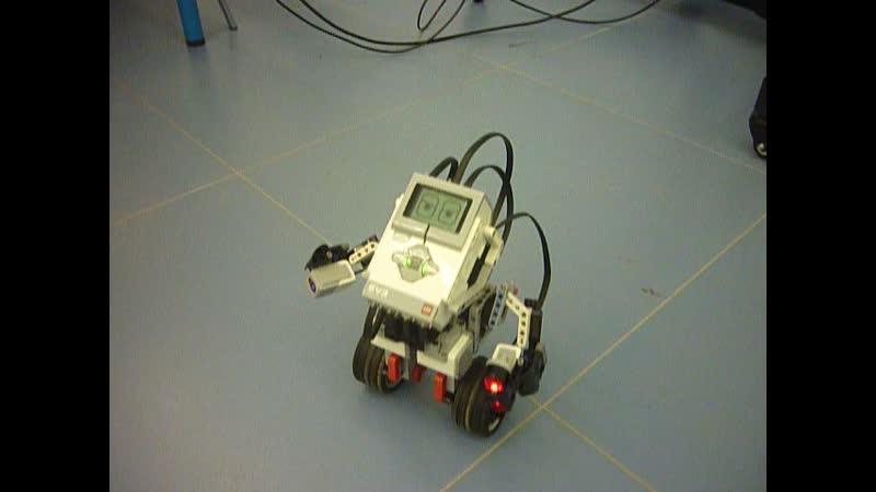Робот-сигвей (Gyro Boy) из Lego Mindstorms EV-3