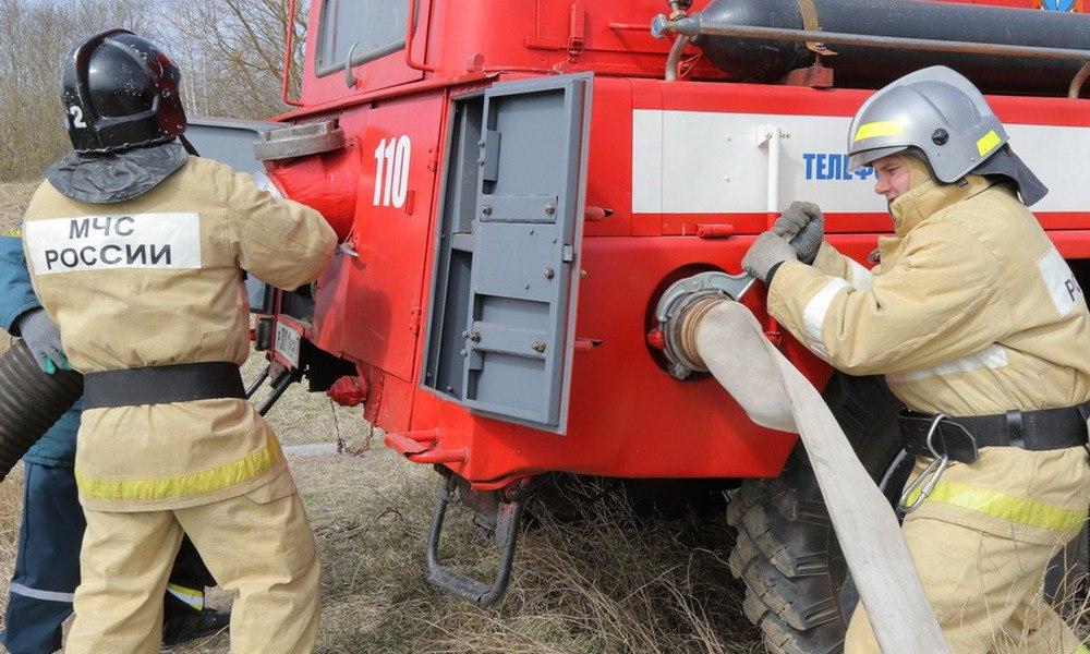 В КЧР загорелся жилой дом на территории ст.Зеленчукской