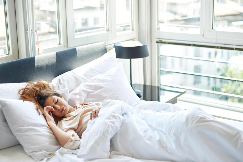 удобная красивая постель