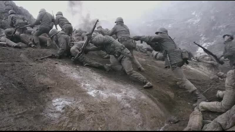Захват высоты южнокорейской пехотой Линия фронта