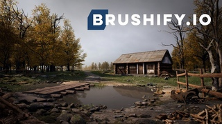 Brushify - Build a House in UE4. Relaxing 2 Hour Beginner Tutorial