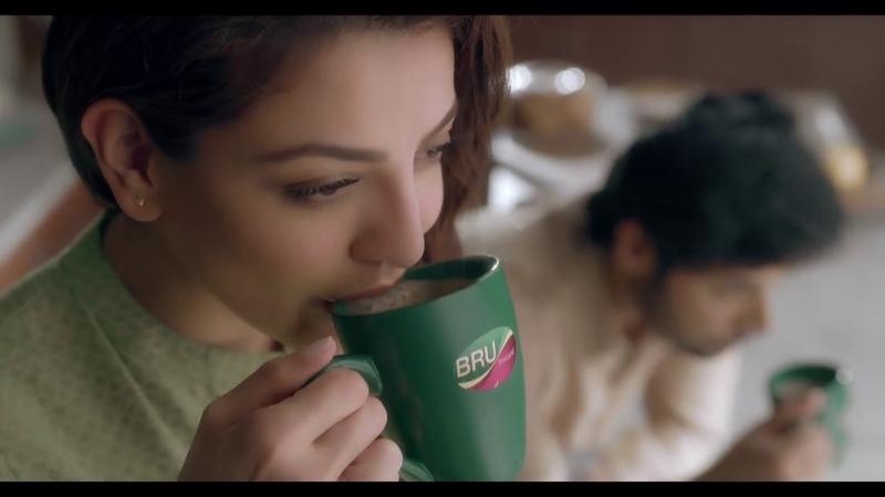 Kajal Aggarwals Bru Tvc Ad 2019   Tamil  