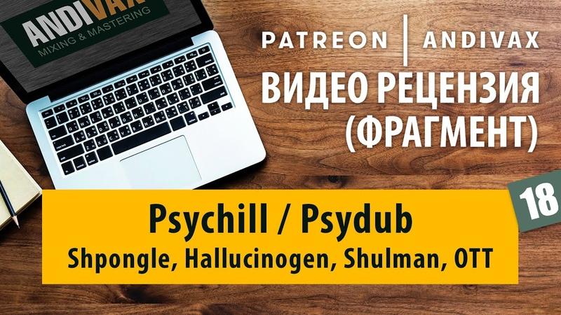 Видео рецензия на трек №18 Psychill Psydub Shpongle Hallucinogen Shulman
