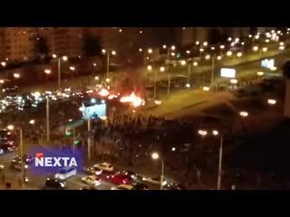 #necro_tv: Коктейли Молотова в Минске