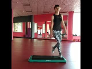 Step aerobic с ольгой морозовой | flex gym