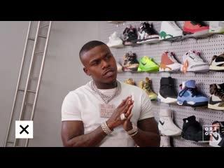 Рэпер DaBaby закупил кроссовок на $5700.