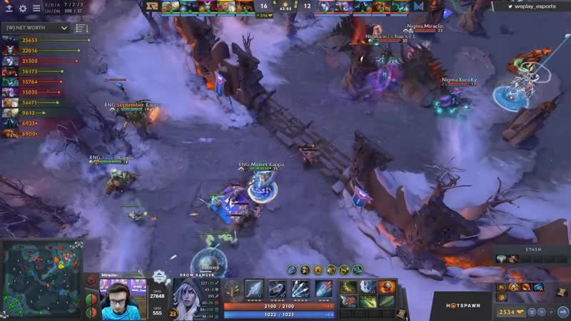 Dotatvru NIGMA DOESN T CARE of NETWORTH EPIC COMEBACK vs RNG in GRAND FINALS WePlay! Bukovel Minor