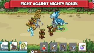 Битва маленьких клонов Clash of Legions прохождение #1